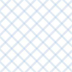 Diagonal Plaid Blue