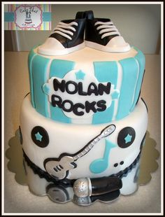 Rock and roll birthday cake google search cameron and ethan rock and roll birthday cake google search cameron and ethan parties pinterest birthday cakes birthdays and birthday party ideas freerunsca Images