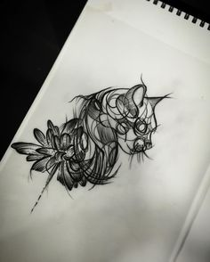 Fresh WTFDotworkTattoo Find Fresh from the Web Kitty cat #blackwork #linework #dotwork #cattattoo #tattoosketch #lotusflower #sketchtattoo #misskullnbonestattoo #skullnbonestattoo #tatuajesbogota #tattoobogota misskullnbonestattoo WTFDotWorkTattoo