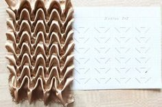 Diy Crafts - How to do canadian smocking matrix design - Art & Craft Ideas Smocking Tutorial, Smocking Patterns, Fabric Patterns, Sewing Patterns, Fabric Manipulation Techniques, Textiles Techniques, Sewing Techniques, Embroidery Fabric, Embroidery Stitches