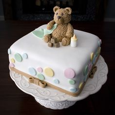 This is my favorite shower cake ever; if you know me, you know I love bears anyways! Now I have an excuse to decorate with them :)