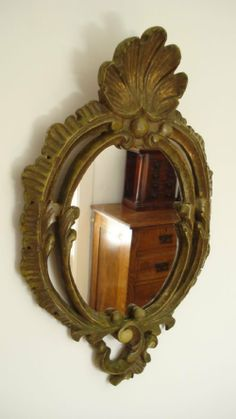 18th Century Italian  Rococco Mirror