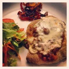 Recetas de Gourmet: Milanesa de Pollo a la Boloñesa