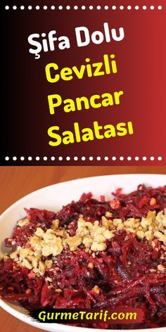 Cevizli Pancar Salatası Tarifi – Keto tarifleri – The Most Practical and Easy Recipes Beet Salad Recipes, Smoothie Recipes, Kids Meals, Easy Meals, Tailgate Food, Feeding A Crowd, Salad Bar, Turkish Recipes, Food Menu