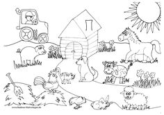 Farm coloring pages from Farm Beautiful Temporary . coloring pages, Wedding Coloring Pages, Farm Animal Coloring Pages, Coloring Pages To Print, Coloring Sheets, Coloring Rocks, Coloring For Kids, Free Coloring, Adult Coloring, Baby Farm Animals