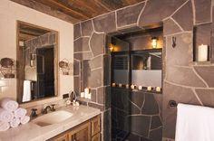 Rustic bath decor gorgeous rustic bathroom decor ideas to try at Rustic Bathroom Accessories, Rustic Bathroom Designs, Rustic Bathroom Vanities, Rustic Bathroom Decor, Bathroom Design Small, Bath Design, Modern Bathroom, Bathroom Ideas, Bathroom Furniture