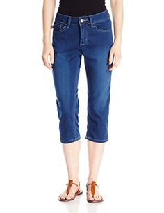 Lee Women's Easy Fit Frenchie Capri Jean, Americana, 10- #fashion #Apparel find more at lowpricebooks.co - #fashion