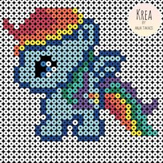 Billedresultat for my little pony perler Hama Beads Design, Hama Beads Patterns, Beading Patterns, Peyote Patterns, Hama Maxi, My Little Pony Minecraft, Minecraft Beads, Minecraft Crafts, Minecraft Skins