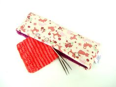 Needle Nook - Calico Kitty Cat (Pink) | Slipped Stitch Studios
