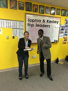 Congrats to Sophia and Kesley for being recognized as our top leaders of the week.  Sophia and Kesley ran a team meeting to discuss the things that were most important to the entire team and focused only on the items that the team wanted to discuss.