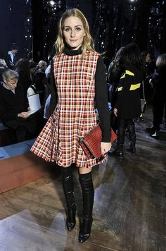 Olivia Palermo au défilé Dior Couture