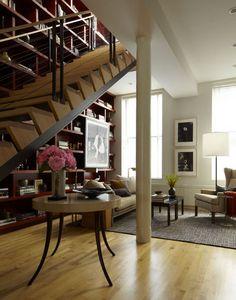 Beautiful built-in bookshelves -- desire to inspire - desiretoinspire.net