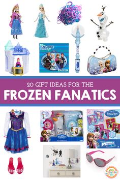 20 Gifts for the Frozen Fanatic - so fun!!!!