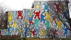 | keith haring mural 22nd and ellsworth | we the youth #philadelphia #streetart #love #passion #southphilly #wetheyouth #art #graffiti #dope