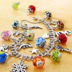 James Avery glass charms