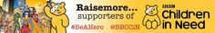 Raisemore are proud supporters of Children In Need #ChildrenInNeed @BBCCiN #BeAHero