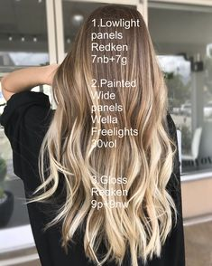 3474 Likes 43 Kommentare Michigan Balayage Baliage Hair, Red Balayage Hair, Ombre Hair, Blonde Hair, Bayalage, Butter Blonde, Redken Hair Color, Hair Color Formulas, Redken Color Formulas