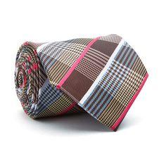 Hand Made Tie // Tan Plaid