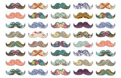 awesome colorful cute drawing moustache image 342646 on Favim Hipsters, Illustrations, Illustration Art, Movember, Modern Artwork, Blog Deco, Green Art, Oui Oui, Art Mural