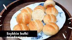 SZYBKIE BUŁKI ŚNIADANIOWE TYLKO 4 SKŁADNIKI Bread Recipes, Ale, Make It Yourself, Baking, Party, Youtube, Brot, Ale Beer, Bakken