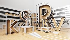 K — IV by Jean-Michel Verbeeck, via Behance
