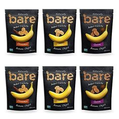 Bare Natural Banana Chips Variety Pack Gluten Free  Baked 27 Ounce 6 Count -- Read more reviews of the product by visiting the link on the image.