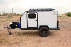 Gobi Trailer: Expedition Off Road Camper – Bivouac Camping Trailers Small Camper Trailers, Off Road Camper Trailer, Trailer Diy, Small Campers, Trailer Build, Camping Trailers, Trailer Plans, Camping Cabins, Cargo Trailers