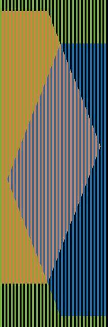 Carlos Cruz-Diez, 'Color Aditivo Triangular Tres,' 2010, Marion Gallery