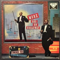 Edmundo Ros And His Orchestra - More Ros On Broadway VINYL LP
