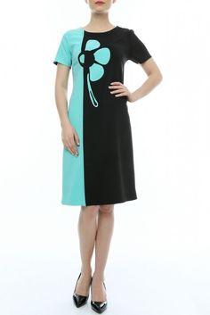 Rochie de zi negru-bleu Cold Shoulder Dress, Dresses, Fashion, Vestidos, Moda, Fashion Styles, The Dress, Fasion, Dress