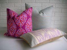 Bohemian Throw Pillow Cover  Lavender Cream by habitationBoheme, $48.00