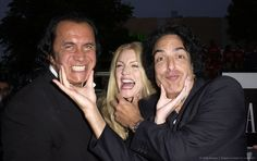 Gene Simmons, Shannon Tweed and Paul Stanley Kiss Images, Kiss Pictures, Great Bands, Cool Bands, Shannon Tweed, Gene Simmons Kiss, Simmons Family, Detroit Rock City, Vinnie Vincent