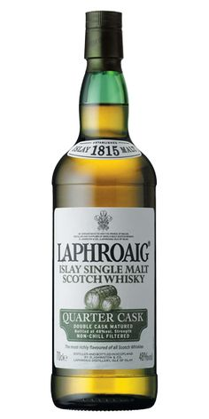 It comes from the upper-left side of our flavour map. In an explosive manner!The Laphroaig distillery was founded in 1815 by Donald and Alexander Johnston and is located in Po...