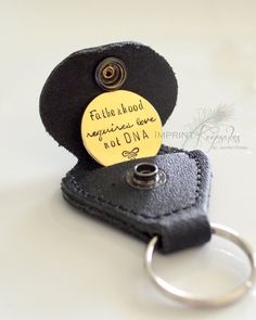 Fathers day gift idea Fatherhood requires love not DNA Leather Golf by ImprintKeepsakes Wedding Gifts For Parents, Wedding Day Gifts, Gifts For Father, Diy Father's Day Gifts, Boyfriend Gifts, Boyfriend Stuff, Step Kids, Christmas Scenes, Day Wishes