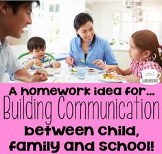 A Homework Idea to Build Communication