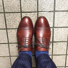 KOKON 昨日からずっと雨ですね お願いしている靴がそろそろではないかと楽しみになってきました #kokon #kokonshoes #shoes #mensshoes #degermann #sotd #shoesoftheday #ココン #紳士靴 #革靴 #ドゥジェルマン