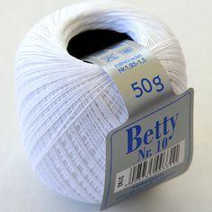 Betty Häkelgarn 10 – Wolle und Handarbeit Vibrant Colors, Handarbeit, Cotton