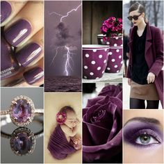 Plum - suitable for a real summer, toned summer, autumn soft, genuine autumn, intense autumn. Perhaps for intensive winter.