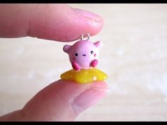 Hey everyone! I just filmed this short and cute Kirby tutorial this morning as homage to the new Super Smash Brothers Game that just came out. I ho. Kirby Nintendo, Clay Videos, Artist Alley, Air Dry Clay, Clay Tutorials, Clay Charms, Clay Projects, Polymer Clay, Kawaii