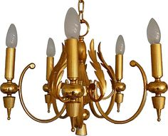 One Kings Lane - A Little Light Magic - 5-Arm Petit Chandelier