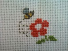 Yet another cross-stitch thing. I'm really starting to get addicted to those.