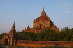 Red Temple in Bagan, Burma. Burma Myanmar, Yangon, Explore Travel, Online Travel, Buddhist Temple, Travel Agency, Business Travel, Barcelona Cathedral, Tourism