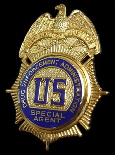 Drug Enforcement Agent - DEA Badge