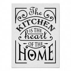 Kitchen Remodeling Plan Kitchen quote design poster - vintage gifts retro ideas cyo - Shop Kitchen quote design poster created by creativeclub. Personalize it with photos