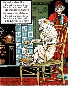 Mother Hubbard's Picture Book - Walter Crane - 1897