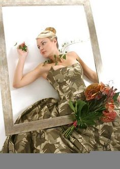 Camo Wedding Dress?