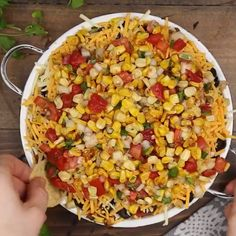 Amp up tradition Seven-Layer Dip with an extra layer of amazingness! This Eight-Layer Dip is going to be the star of your fun game day party! Dip Recipes, Mexican Food Recipes, Great Recipes, Cooking Recipes, Shake Recipes, Appetizer Dips, Appetizers For Party, Appetizer Recipes, Party Dips