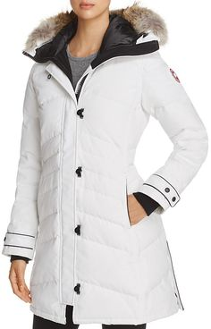 Canada Goose Lorette Coyote Fur Trim Down Coat. Parka coat fashions. I'm an affiliate marketer. When you click on a link or buy from the retailer, I earn a commission.
