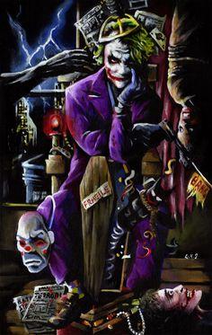 The Joker by sullen-skrewt.deviantart.com on @deviantART