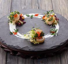 Next level plating Food Design, Food Plating Techniques, Western Food, Star Food, Food Garnishes, Food Decoration, Molecular Gastronomy, Culinary Arts, Creative Food